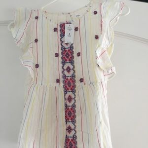 NWT GapKids Mexican-style blouse